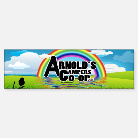 Arnolds Campers Co-op Ltd Sticker (Bumper)
