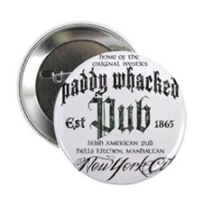 """Paddy Whacked Pub 2.25"""" Button"""