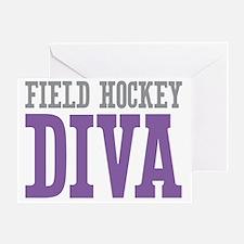 Field Hockey DIVA Greeting Card