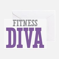Fitness DIVA Greeting Card