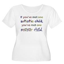 Koy's Logo + One Autistic Chi T-Shirt