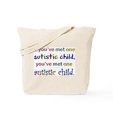 Koy's Logo + One Autistic Chi Tote Bag