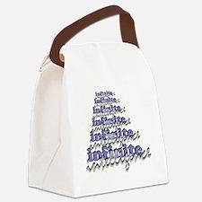 Infinite Intelligence lg Canvas Lunch Bag