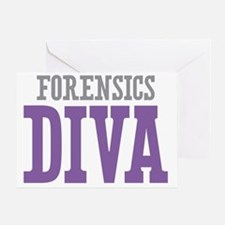 Forensics DIVA Greeting Card