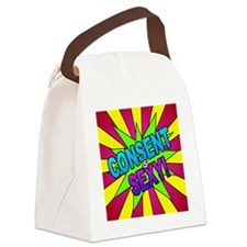 Pop! Consent is Sexy Canvas Lunch Bag