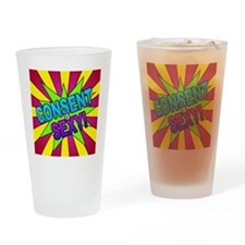 Pop! Consent is Sexy Drinking Glass