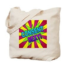 Pop! Consent is Sexy Tote Bag