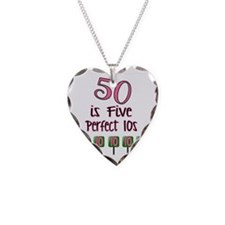 50 is Five Perfect TENS Necklace