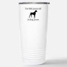 80 birthday dog years boxer Travel Mug