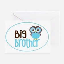 Big Brother Owl Greeting Card