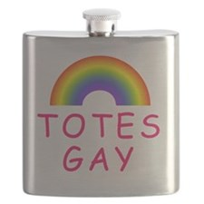 Totes Gay Flask