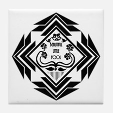 Gatsby Art Deco Tile Coaster
