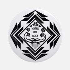 Gatsby Art Deco Round Ornament