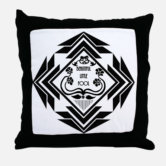 Gatsby Art Deco Throw Pillow