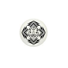 Gatsby Art Deco Mini Button