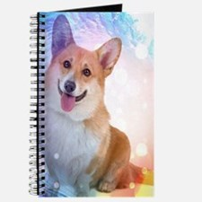 Smiling Corgi with wave Journal