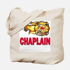 Fire Chaplain Tote Bag