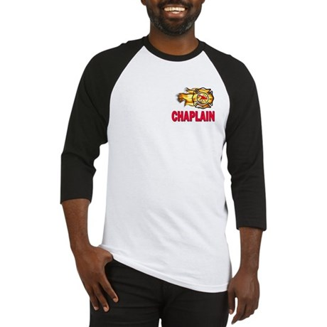 Fire Chaplain Baseball Jersey