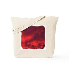 Red Cloud Tote Bag