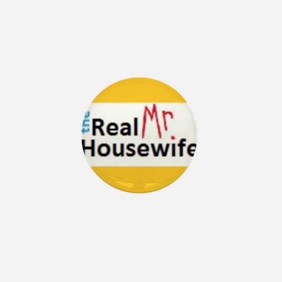 Real Mr. Housewife  Mini Button