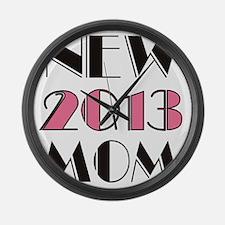 New Mom 2013 Large Wall Clock