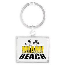 miami beach Landscape Keychain