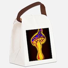 Psychedelic Shroom (dark) Canvas Lunch Bag