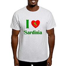 I Love Sardinia Italy T-Shirt
