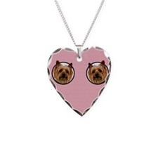 Silky Terrier Mom Necklace