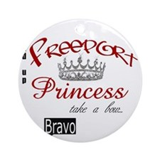 Freeport Princess Round Ornament
