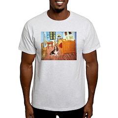 Van Gogh's Room & Basset T-Shirt