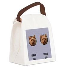 Yorkshire Terrier Dad Canvas Lunch Bag