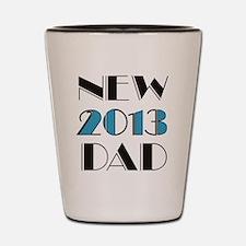 2013 New Dad Shot Glass