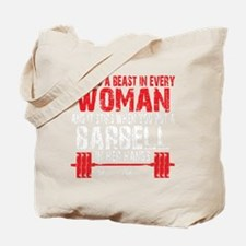 A BEAST IN EVERY WOMAN - Black Tote Bag