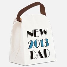 2013 New Dad Canvas Lunch Bag