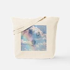 Corgi Rainbow Tote Bag