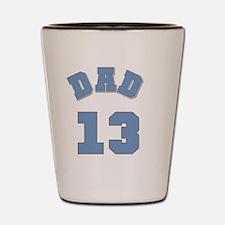 Dad 13 Shot Glass