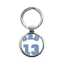 Dad 13 Round Keychain