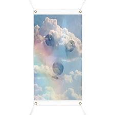 Corgi Rainbow Banner