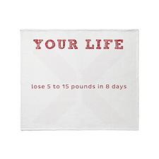 White X - Transform Your Life Throw Blanket