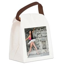 Victoria Ballerina Project Canvas Lunch Bag