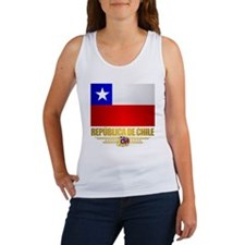 Flag of Chile Women's Tank Top