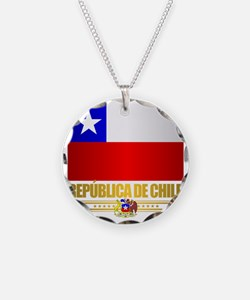 Flag of Chile Necklace