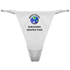 World's Coolest Welding Inspector Classic Thong