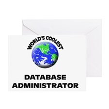 World's Coolest Database Administrat Greeting Card