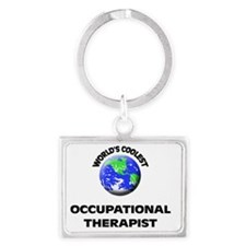 World's Coolest Occupational Th Landscape Keychain