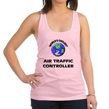 World's Coolest Air Traffic Con Racerback Tank Top