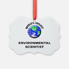 World's Coolest Environmental Sci Ornament