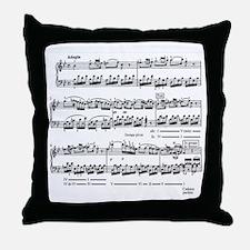 mozart ALL OVER Throw Pillow