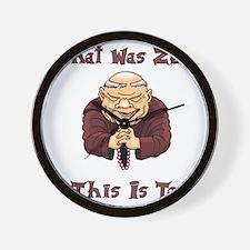 That Was Zen, This Is Tao Wall Clock